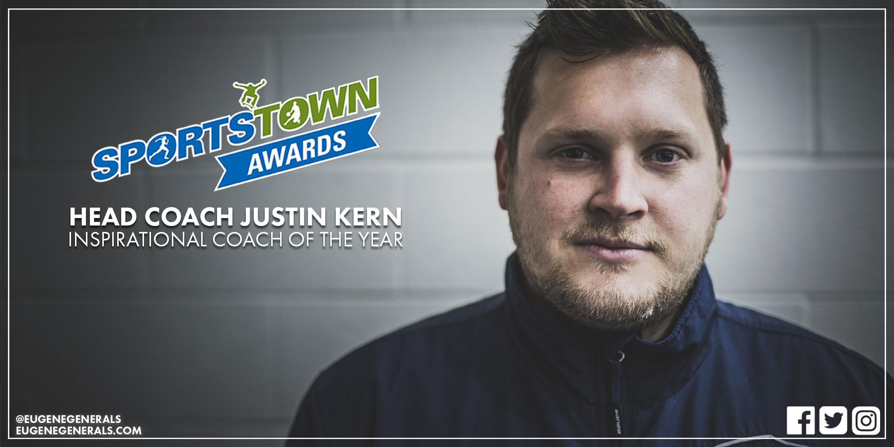 Generals Head Coach Nominated For SportsTown Award